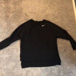High low Nike women's sweatshirt